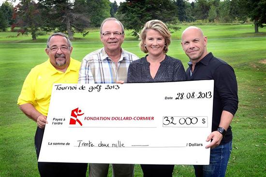 Tournoi de Golf 2013 - Fondation CRDM
