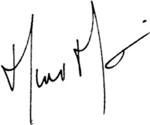 Signature Maxim Martin - Fondation CRDM