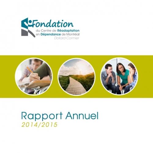 Rapport annuel 2014/2015 - Fondation CRDM