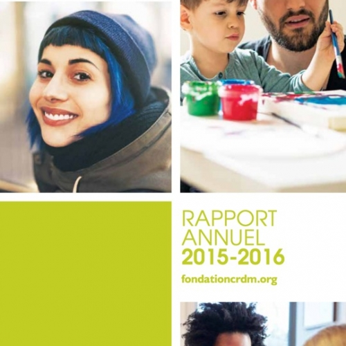 Rapport annuel 2015/2016 - Fondation CRDM